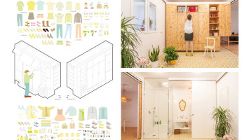 Tiny Transforming Apartment by PKMN Architectures 11