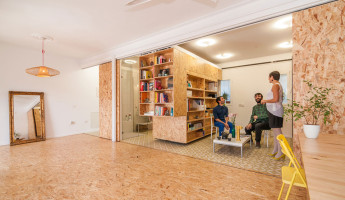 Tiny Transforming Apartment by PKMN Architectures 3