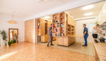 Tiny Transforming Apartment by PKMN Architectures 4
