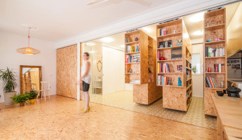 Tiny Transforming Apartment by PKMN Architectures 5