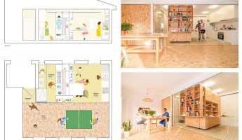 Tiny Transforming Apartment by PKMN Architectures 6