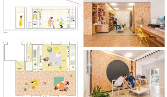 Tiny Transforming Apartment by PKMN Architectures 7