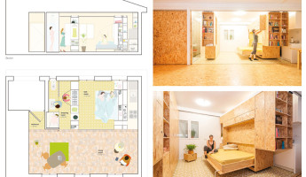Tiny Transforming Apartment by PKMN Architectures 8