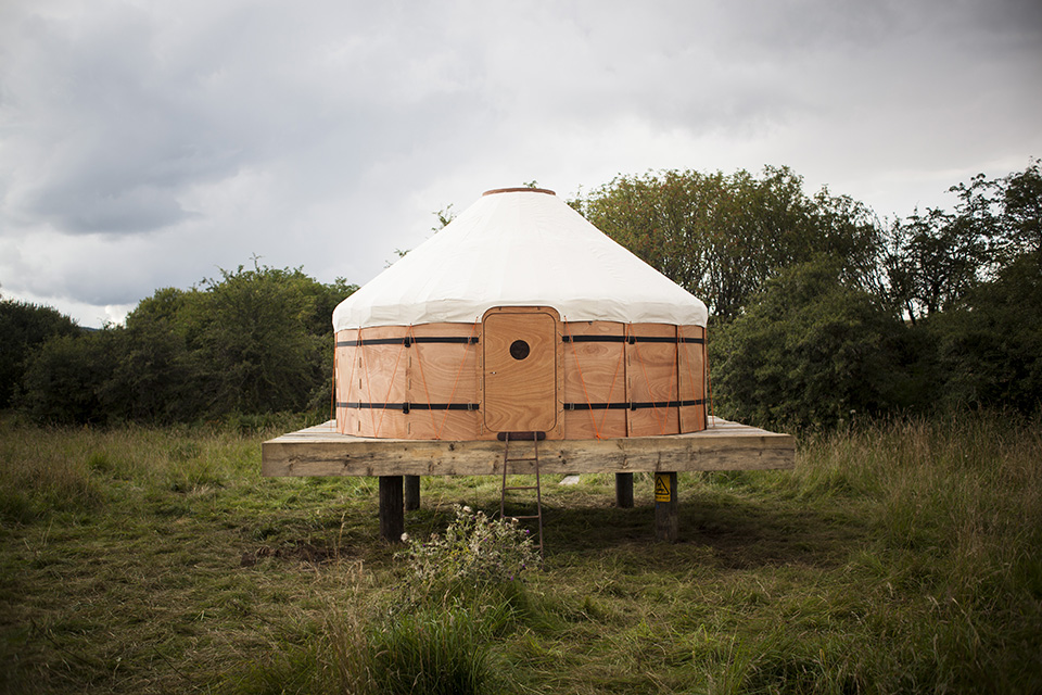 Forest Architecture 2014 - Trakke Jero Yurt 1