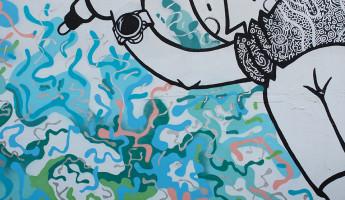 Wynwood Graffiti - Meta Mural