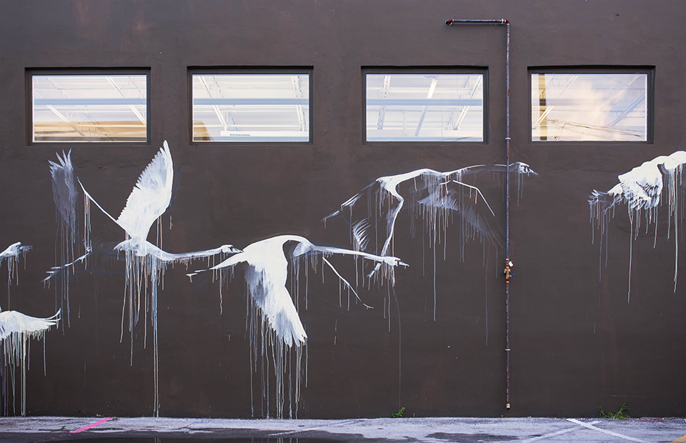 Wynwood Mural - Flying Geese