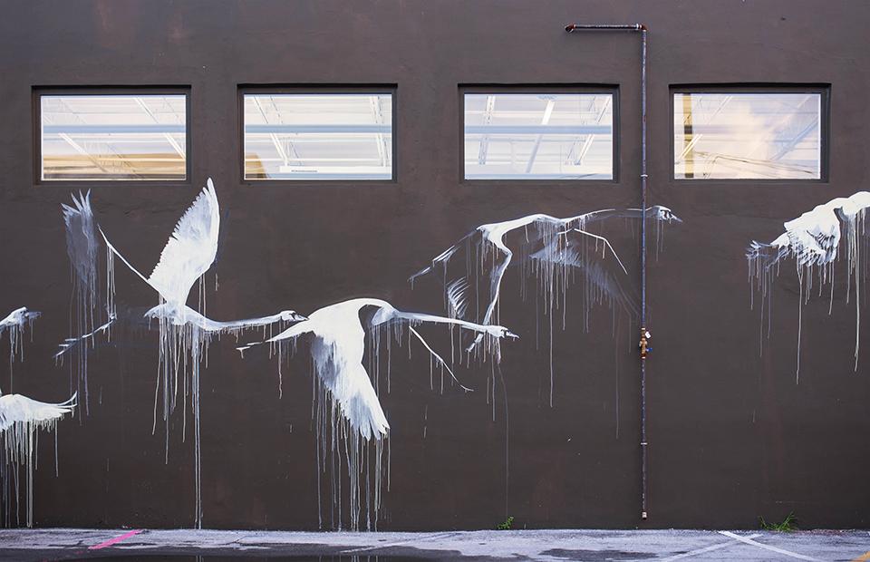 Wynwood Mural - Flying Geese