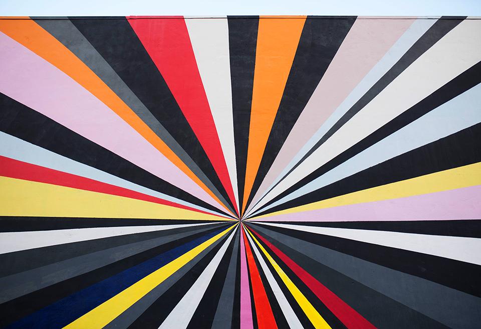 Wynwood Mural - Geometric Graffiti
