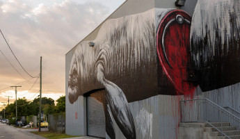 Wynwood Graffiti - Split Manatee