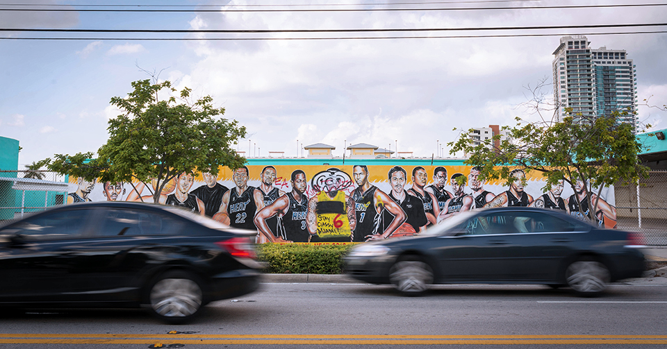 Wynwood Mural - The Heatles Lose Their John