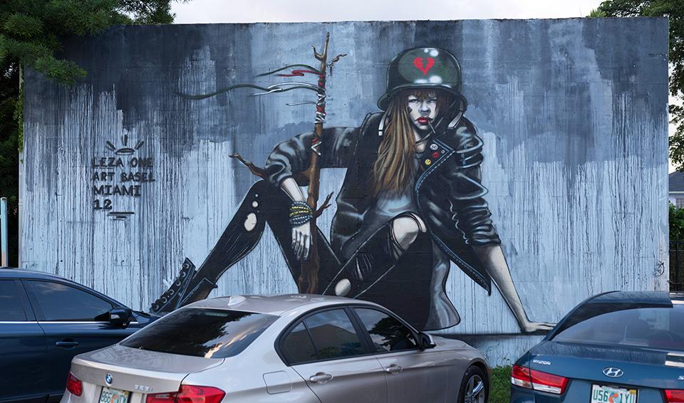 Wynwood Mural - Leza One