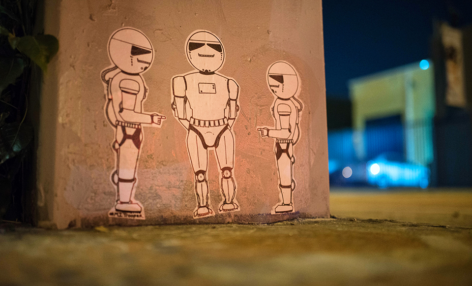 Wynwood Urban Art - Storm Drain Troopers