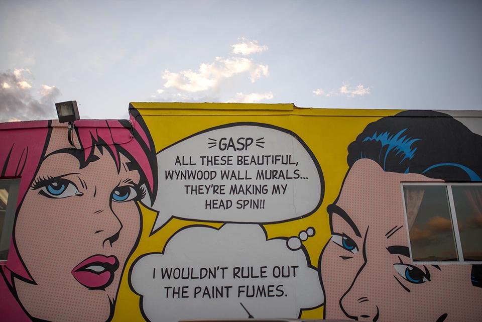 Wynwood Mural Art - Wynwood Comic