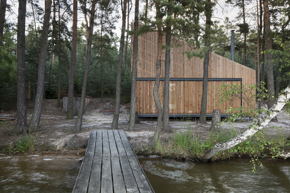 Forest Architecture 2014 - Lake Cabin by Fam Architekti 1