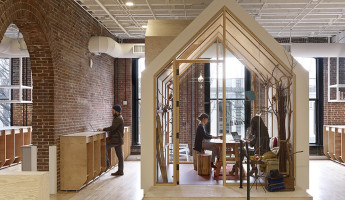 AirBNB Portland Office design