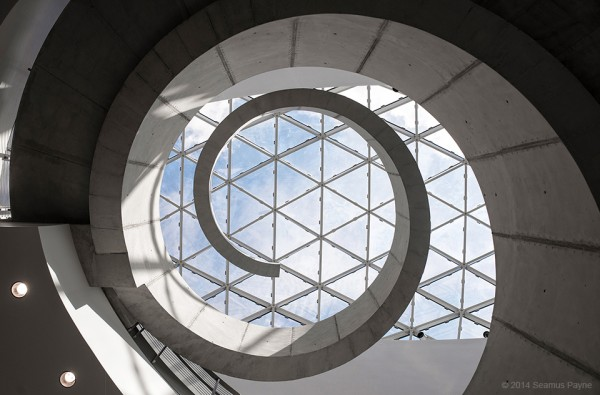 Dali Museum Shoot Architecture Spiral Center1 600x395 Salvador Dali Museum   An Inside Look at the Art and Architecture of The Dali