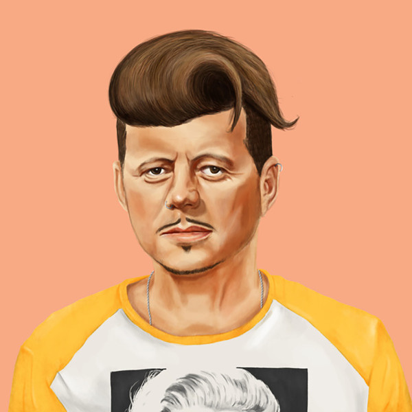 Hipstory Hipster World Leaders by Amit Shimoni 2