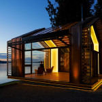 Homes with a View 2014: Lakeside Garage Restoration by Graypants 1