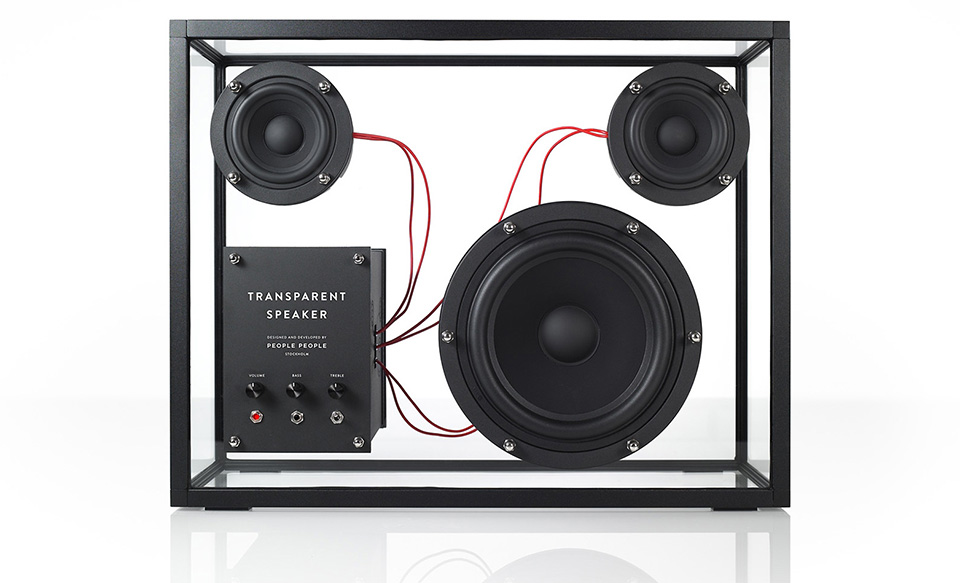 People Products Transparent Speaker 1