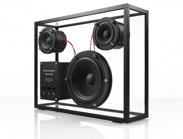 People Products Transparent Speaker 2 600x457 Transparent Speaker Exposes Awesome Audio for Music Junkies