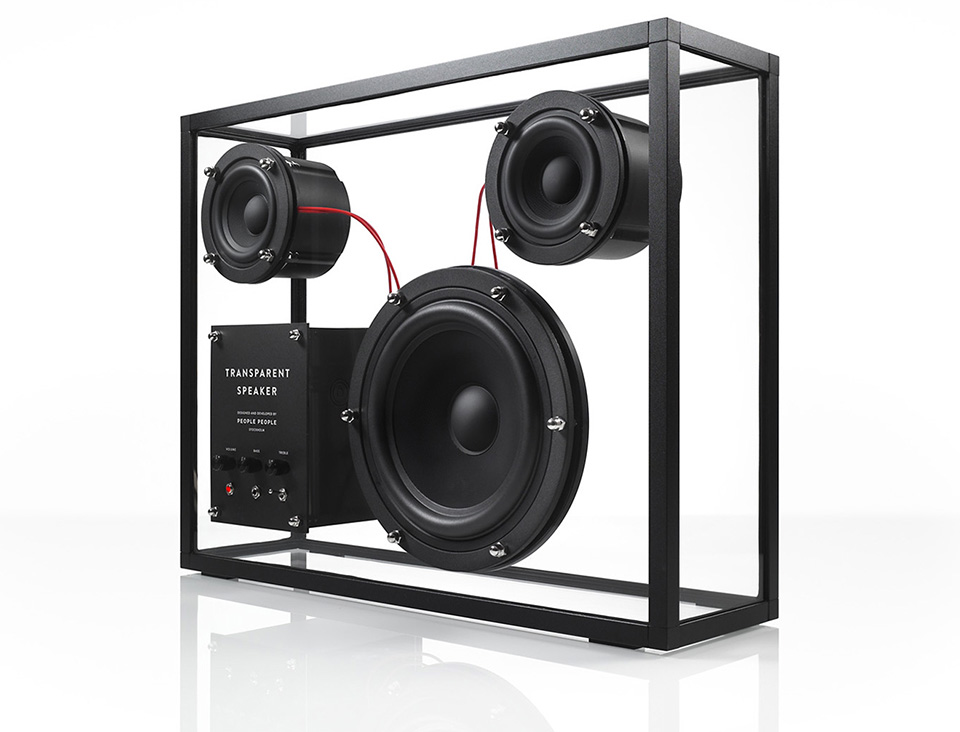 People Products Transparent Speaker 2