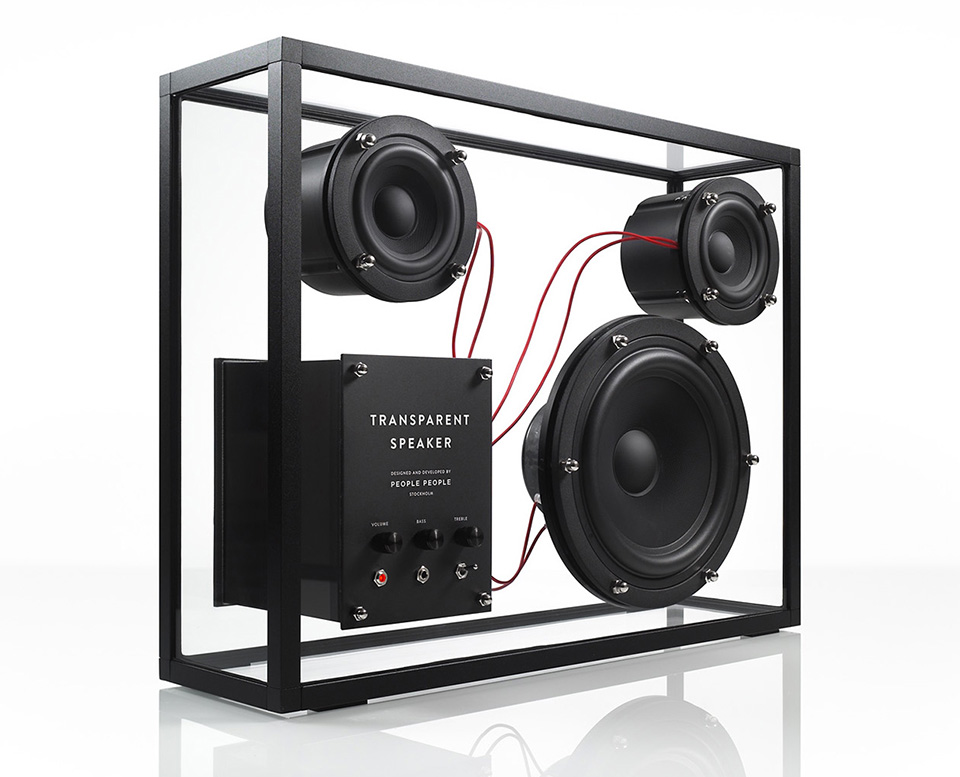 People Products Transparent Speaker 5
