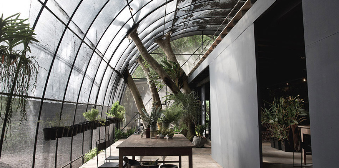 Siu Siu Net House is a Sensory Subtropical Retreat
