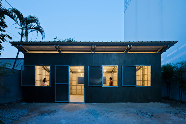 Prefab Tiny House by Vo Trong Nghia 1