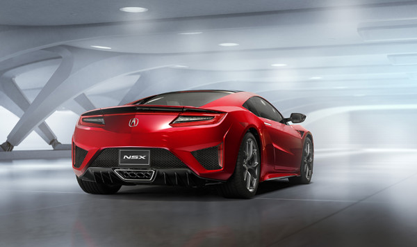 2016 Acura NSX 2 600x355 2016 Acura NSX: The Once and Future King Returns