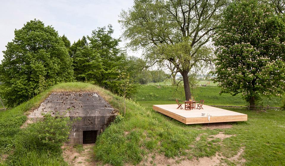 B-ILD Bunker Refurbishment Vacation House hero