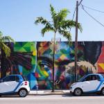 Car2Go-Vehicle-Parked-by-Wynwood-Walls