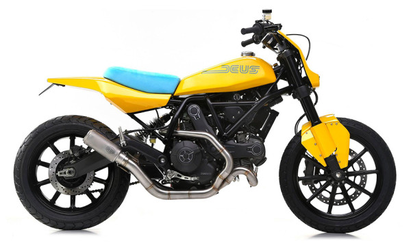 Ducati Scrambler Special by Deus Ex Machina 2 600x355 Ducati Scrambler Specials Roar into 2015 Motor Bike Expo