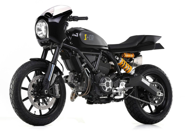 Ducati Scrambler Special by Mr Martini 3 600x423 Ducati Scrambler Specials Roar into 2015 Motor Bike Expo