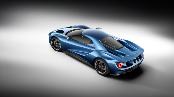 Ford GT Supercar 2 600x334 The 2016 Ford GT Supercar Rolls Out