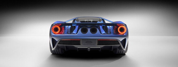 Ford GT Supercar 4 600x227 The 2016 Ford GT Supercar Rolls Out