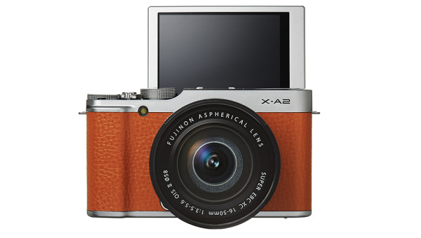 Fujifilm X A2 Mirrorless Digital Camera 2 600x340 Fujifilm X A2 Camera Packs Selfie Friendly Fundamentals