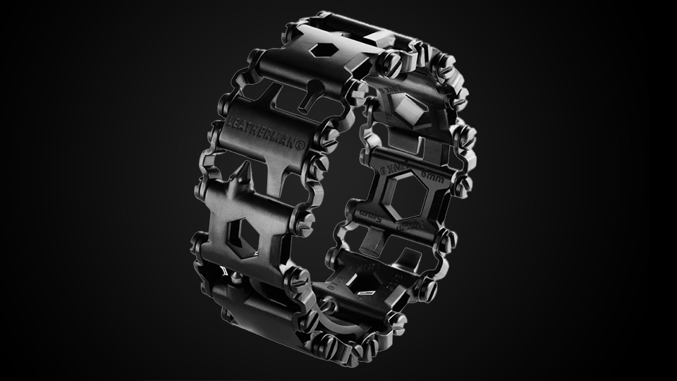 Leatherman Tread Wearable Multitool Watch Bracelet hero
