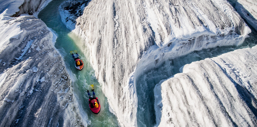 Ice Channels of Aletsch Glacier by David Carlier Photography 2