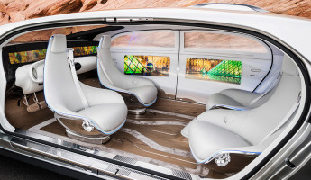 Mercedes-Benz F 015 Luxury in Motion Concept 7