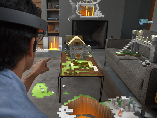 Microsoft Project HoloLens 3 600x450 Microsofts HoloLens Display Could Transform the Computer Screen As We Know It