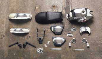 Moto Guzzi Custom Kits - The Dapper Style Kit 1