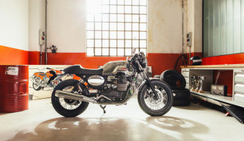 Moto Guzzi Custom Kits - The Dapper Style Kit 2
