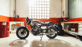 Moto Guzzi Custom Kits - The Dapper Style Kit 3