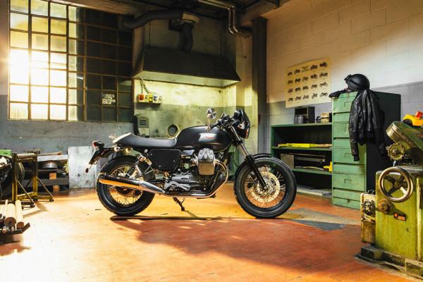 Moto Guzzi Custom Kits - The Dark Rider Style Kit 2