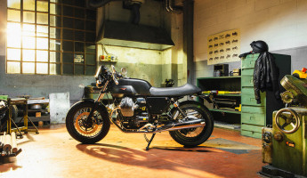 Moto Guzzi Custom Kits - The Dark Rider Style Kit 3