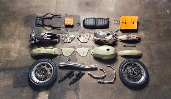 Moto Guzzi Custom Kits - The Legend Style Kit 1