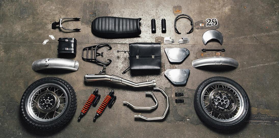 Moto Guzzi Custom Kits - The Scrambler Style Kit 1