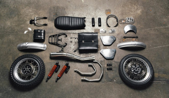 Moto Guzzi Custom Kits - The Scrambler Style Kit 1