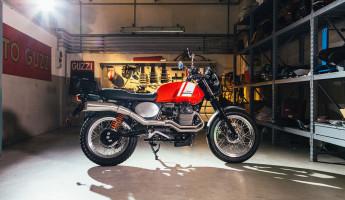 Moto Guzzi Custom Kits - The Scrambler Style Kit 2