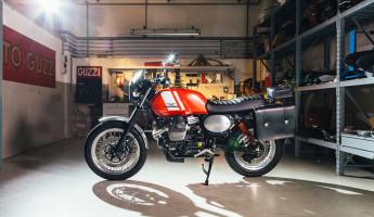 Moto Guzzi Custom Kits - The Scrambler Style Kit 3